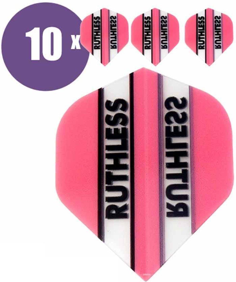 ABC Darts Flights - Ruthless Classic Roze - 10 sets (30 st.) Dart Flights