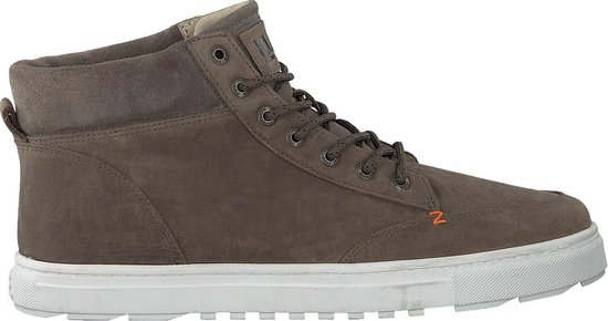 HUB Heren Hoge sneakers Glasgow - Grijs - Maat 42