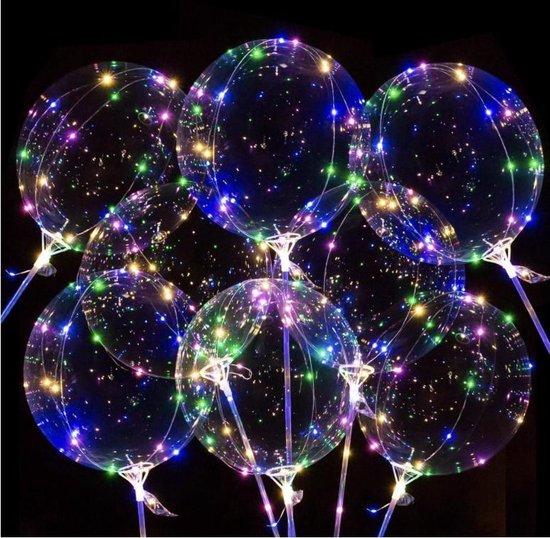 Baloba® XXL LED Ballonnen incl. Lampjes, Lichtsnoer & Accessoires – Helium Ballonnen - Lichtgevend LED ballon