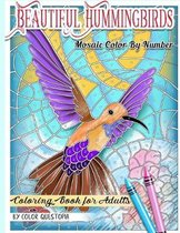 Beautiful Hummingbirds Mosaic Color By Number Coloring Book for Adults