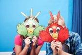 Yulu Peking  Duck Eend Spel met maskers