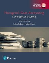 Horngren's Cost Accounting plus Pearson MyLab Accounting with Pearson eText, Global Edition