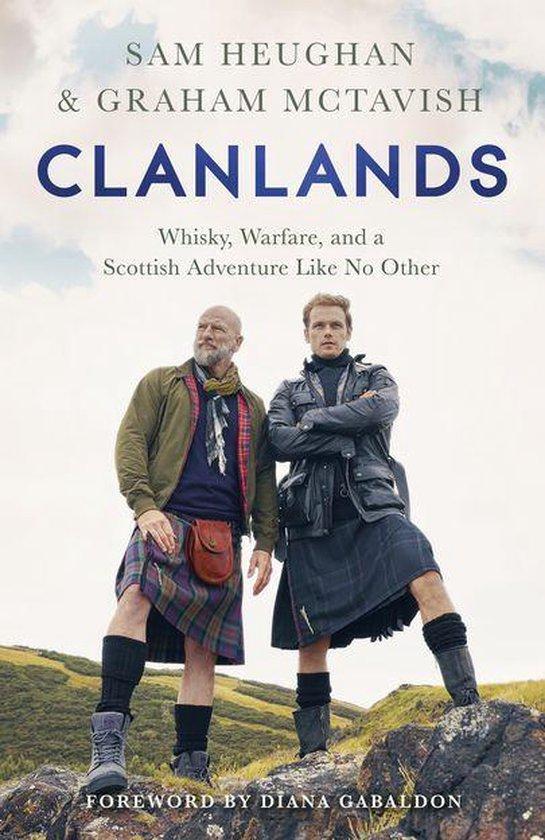 Boek cover Clanlands van Sam Heughan (Onbekend)