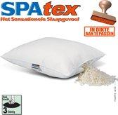 SPATEX Basic | Steungevend veerkrachtig non-allergisch | spaghetti-Latex mix hoofdkussen | 60x70cm