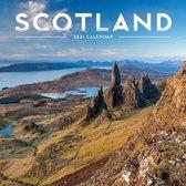 Scotland Square Wall Calendar 2021