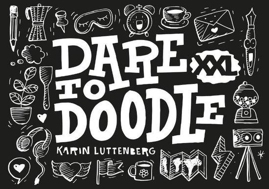 Boek cover Dare to doodle XXL van Karin Luttenberg (Paperback)