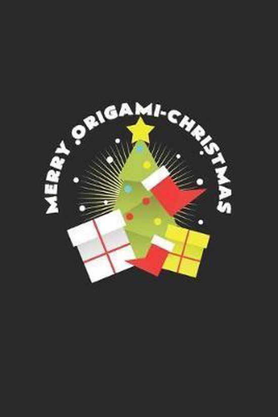 Merry origami christmas
