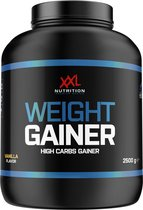 XXL Nutrition Weight Gainer Chocolade / Hazelnoot 2500 gram