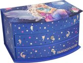 Top Model - Fantasy Jewlery Case - Blue (0411236) /Kids Accessories /Blue