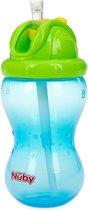 Nuby - Flip-It Antilekbeker - Blauw - 12m+
