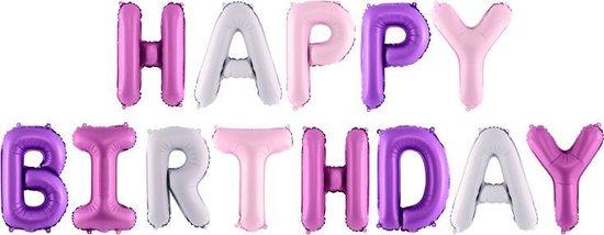 Folie Happy Birthday Pastel Pink
