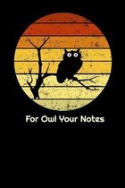 For Owl Your Notes