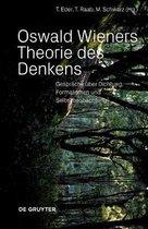 Boek cover Oswald Wieners Theorie des Denkens van