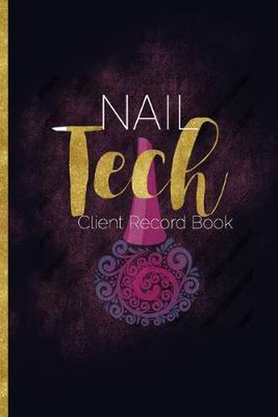 Nail Tech Client Record Book: Customer Profile Log