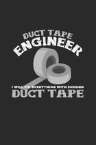 Duct Tape Engineer: 6x9 Engineers - grid - squared paper - notebook - notes