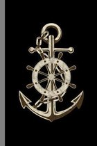 Anchor: Boat Gift For Sailors (6''x9'') Dot Grid Notebook To Write In