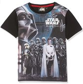Star Wars shirt maat 140 grijs