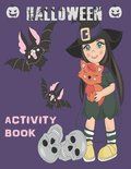 Halloween Activity Book: Coloring, Mazes, Sudoku, Learn to Draw and more for kids 4-8 yr olds