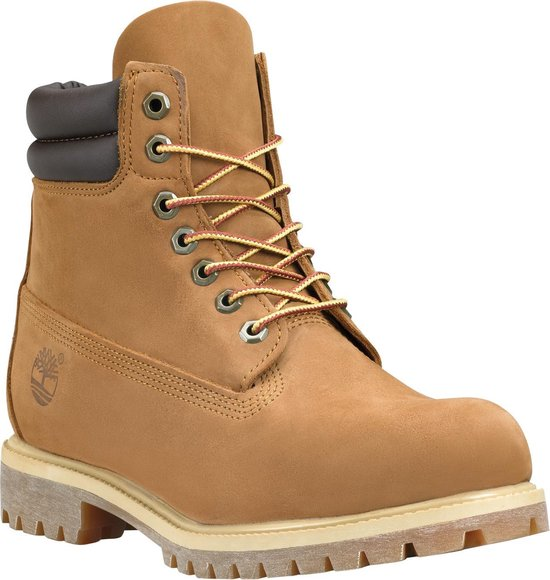 Timberland 6 Inch Boot WP Heren Veterboots - Medium Brown - Maat 40