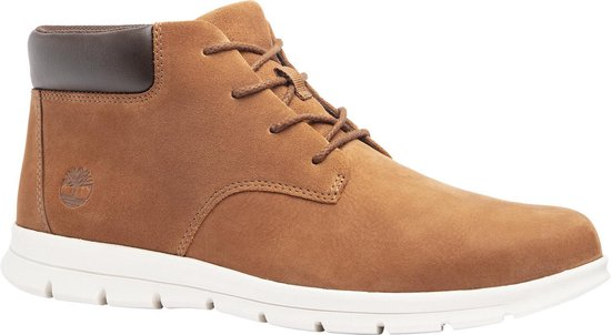 Timberland Graydon Leather Chukka Heren Sneakers - Medium Brown - Maat 41