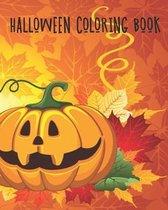 Halloween Coloring: Halloween Monster Coloring Book