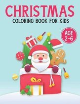 Christmas Coloring Book For Kids Age 2-6
