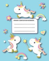Primary Composition Notebook: Baby Unicorns Rule Ok!