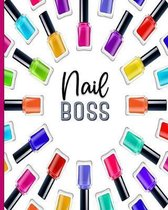 Nail Boss: Client Profile Notebook