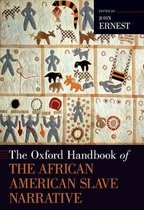 Omslag The Oxford Handbook of the African American Slave Narrative