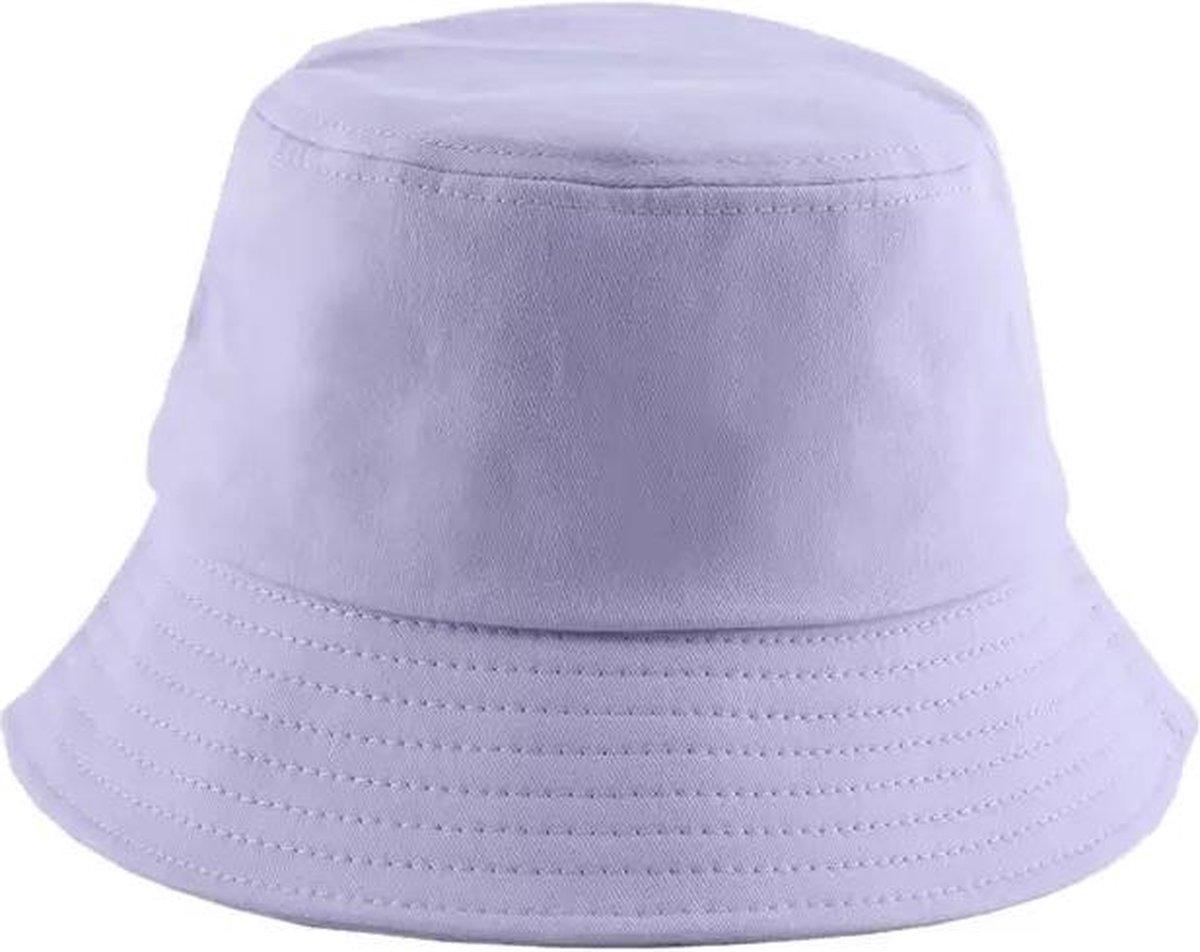 Bucket Hat - Lila - Paars - Unisex - Zonnehoedje - Emmer - Vissershoed