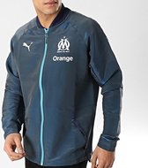 Puma Olympique De Marseille Trainingspak Heren - Donkerblauw - Maat M