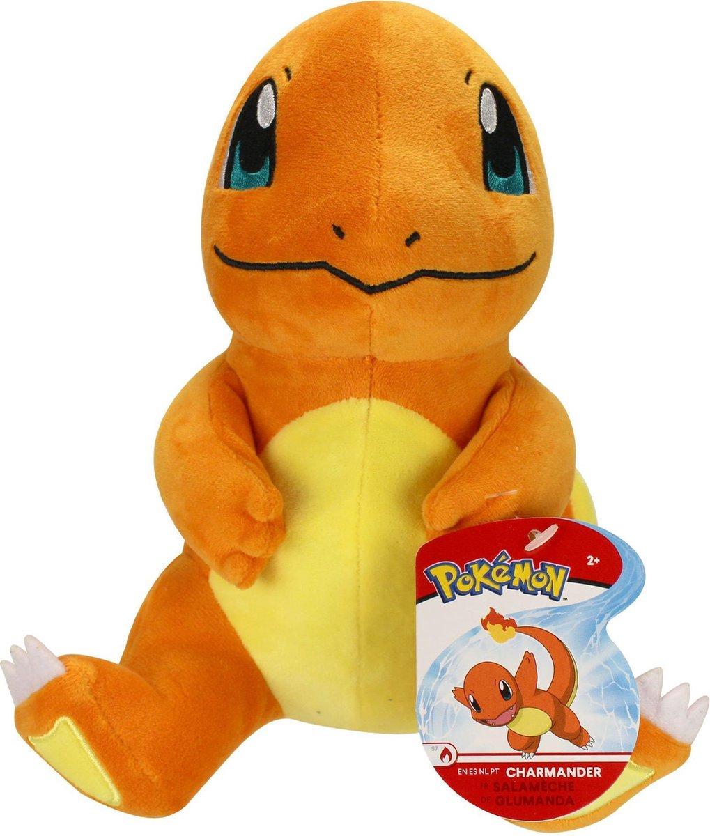 Pokemon Charmander Pluche Knuffel 21 cm | Friends Charmander - Charizard - Dragon - Draak - Dragonite