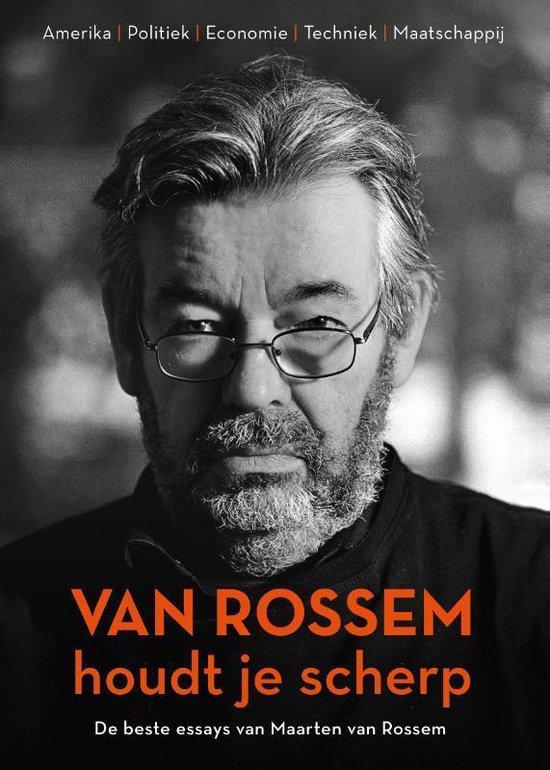 Boek cover Van Rossem houdt je scherp van Maarten van Rossem (Paperback)