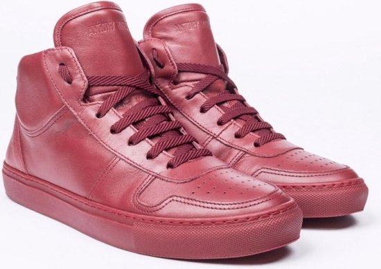 Antony morato rode leren sneakers Maat - 43
