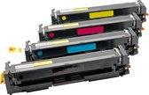 Toner cartridge / Alternatief multi pack voor HP nr205A CF530A CF531A CF532A CF533A | HP Color Laserjet Pro M154/ M180/ M180n/ M181/ M181fw