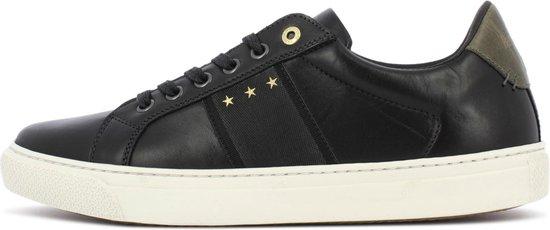 Pantofola d'Oro Napoli Uomo Lage Zwarte Heren Sneaker 46