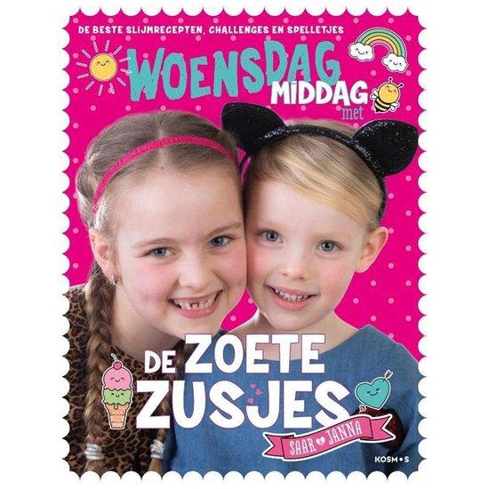 Boek cover Boek Woensdagmiddag met de Zoete Zusjes van Hanneke de Zoete (Paperback)