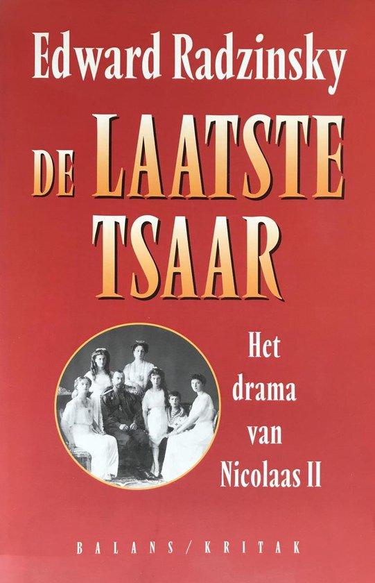 Boek cover De laatste tsaar van Edward Radzinsky