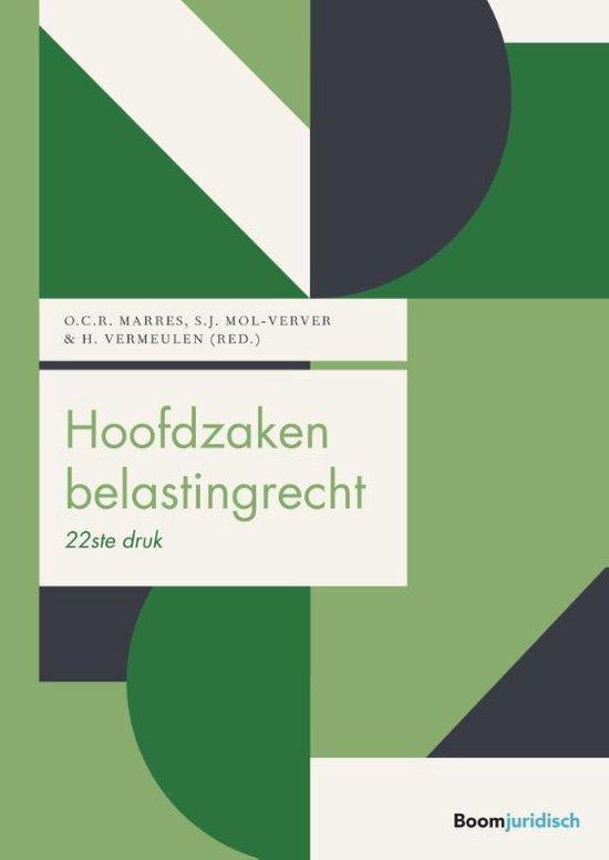 Boek cover Boom fiscale studieboeken - Hoofdzaken belastingrecht van Otto Marres (Hardcover)