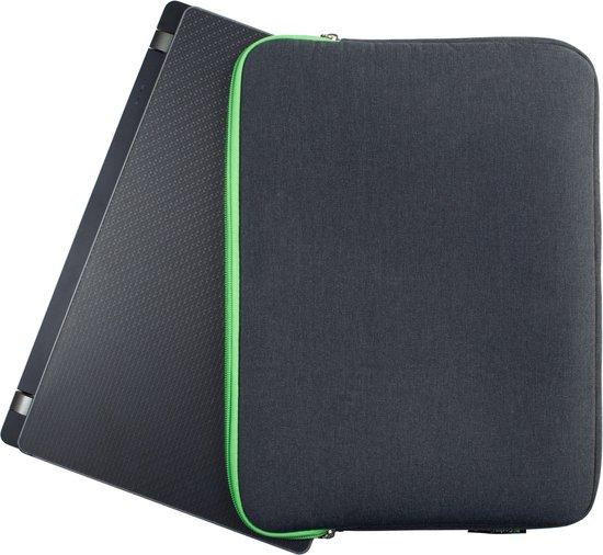 Gecko Covers Donkergrijze Universal Zipper Laptop Sleeve 11-12 inch - Gecko Covers