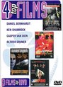 4 Top Films op 1 DVD Bloodsport, Champions, The Omega Code, Velocity Trap