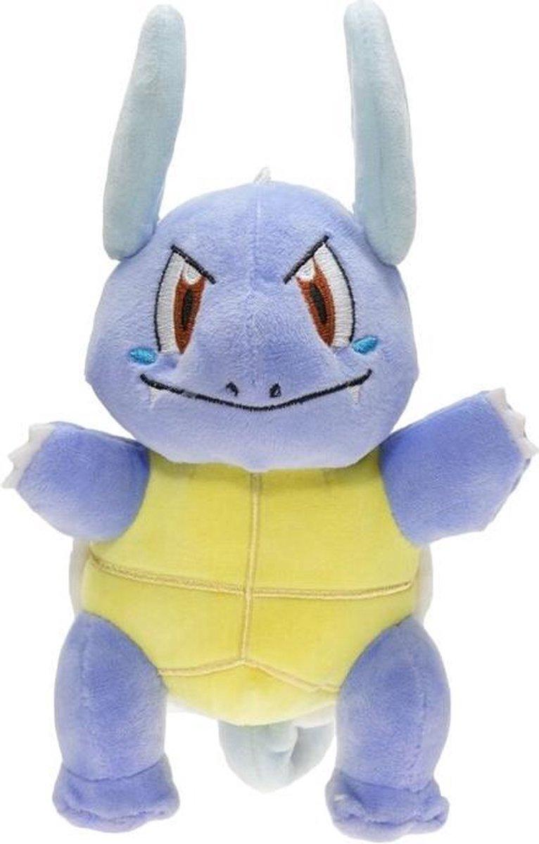 Pokemon Knuffel Wartortle 20 cm pluche cute en zacht - blauw