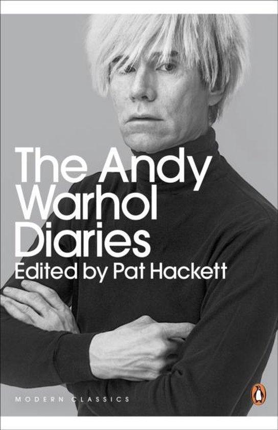 Boek cover The Andy Warhol Diaries Edited by Pat Hackett van Andy Warhol (Paperback)