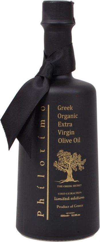 Griekse olijfolie Philotimo extra vierge BIO 500ml