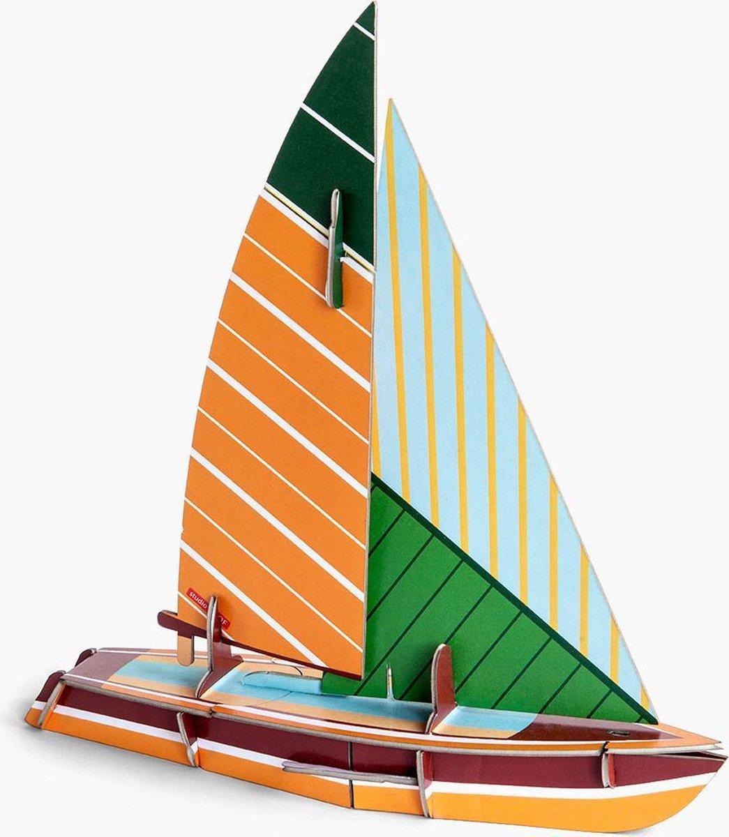 Cool Classic Sailboat - Studio Roof