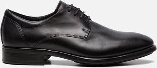 Ecco Citytray veterschoenen zwart - Maat 46
