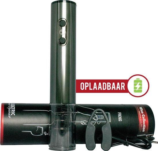 Wijnopener Elektrisch – Kurkentrekker – USB oplaadbaar – LED