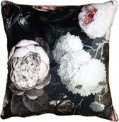 Kussenhoes | 45*45 cm | Meerkleurig | 100% Polyester | Vierkant | Bloemen | Clayre & Eef | KT021.220