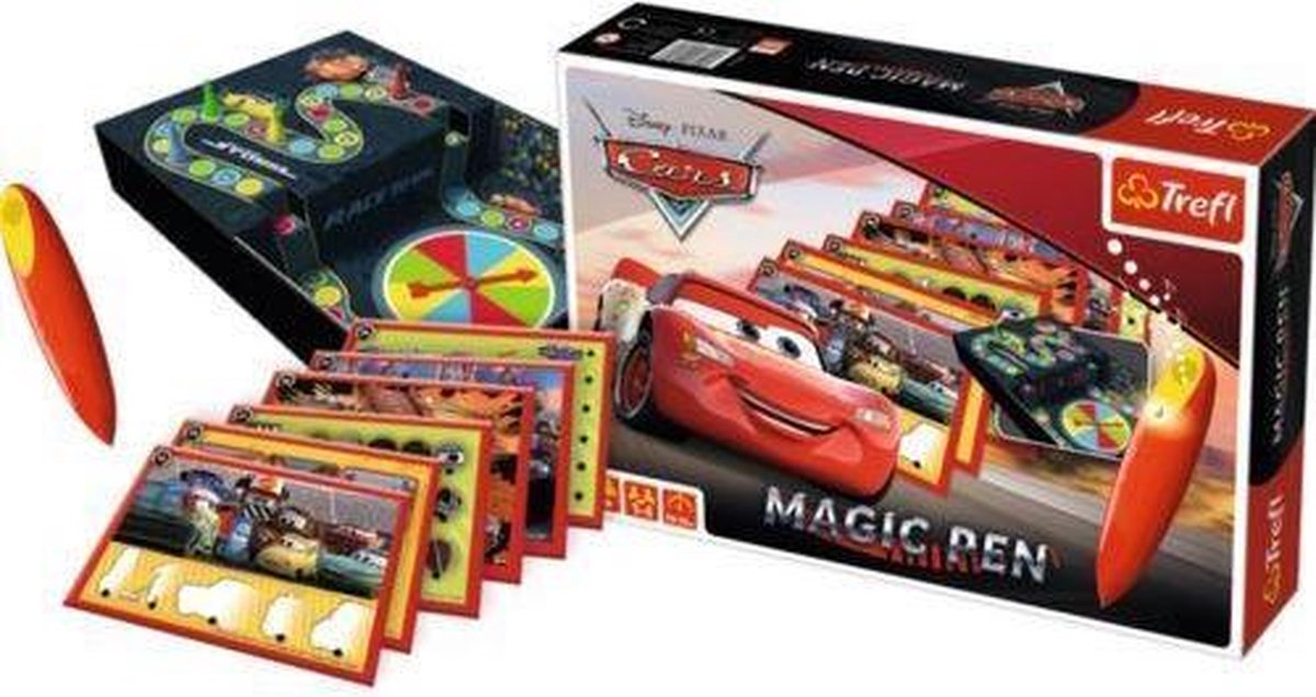 Disney Cars magic pen educatief bordspel 5+