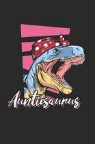 Women's Auntiesaurus Notebook